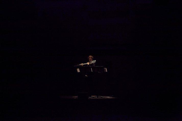 Adriana Morais-Ferreira playing the piece of Seongmi Kim.