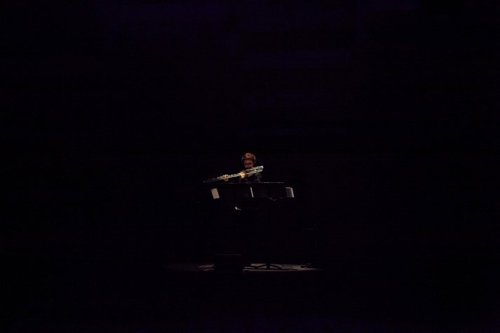Adriana Morais-Ferreira playing the piece of Seongmi Kim.